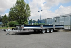 BRIAN JAMES TRAILERS Remorque Plateau Multi-Fonction CONNECT